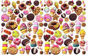 Kawaii Candy Wallpaper on WallpaperSafari