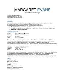 detail resume