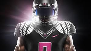 2014 Oregon Black And Pink Breast Cancer Awareness Uniform