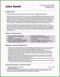 Construction Foreman Resume 35 Smart Ideas You Must Consider