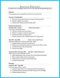 Food Demonstrator Resume Summary Examples Profesional Resume