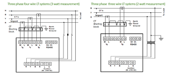 meter fixing pt ct wiring rs networking programming pt ct wiring