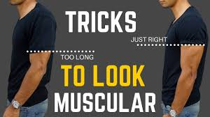 Make You Shirt 6 Clothing Tricks That Make You Look More Muscular Youtube