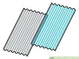 corrugated steel roofing installation how to install corrugated roofing 8 steps with pictures installing corrugated metal corrugated steel roofing