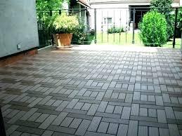 outdoor floor tiles patio outdoor rubber floor tiles home depot