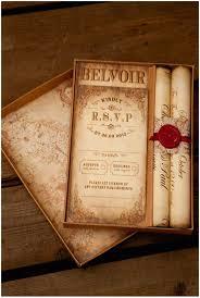 Montecristo Scroll Wedding Invitation Truly Madly Dottie Blog