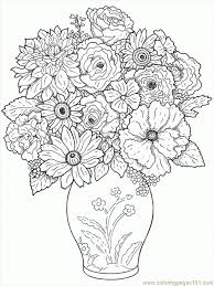 Small Picture Free Printable Flower Coloring Pages Amazing Coloring Free