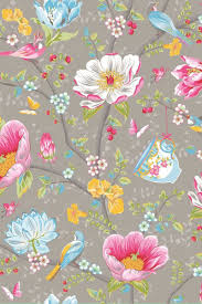 Chinese Garden Behang Grijs Pip Studio The Official Website
