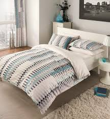 per 8pcs set with duvet cover pillowcase fitted sheet curtains java teal