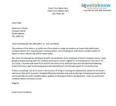 Job Resignation Letter Uk For A You Hate Unique The Best Ideas On ...