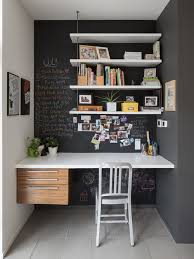 home office design ideas remodels photos with black walls black contemporary home office