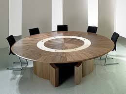 fulcrum large round meeting table