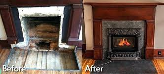 awesome gas fireplace conversion to wood inside convert burn ordinary kit