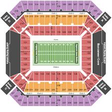 Raymond James Stadium Seating Chart Tampa