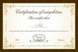 Certificates Brilliant Graduation Certificate Template