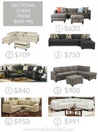 25 affordable sectional sofas for under