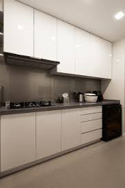 modern minimalist small kitchen design for inium in waldorf tower mont kiara project by