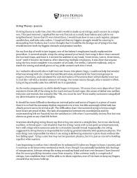 essay on best college essays that worked undergraduate admissions johns hopkins