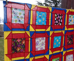 12 inch hole in the barn door quilt blocks with owls in the barn door