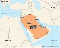 syrian desert physical map. Wonderful Syrian Arabian DesertThe Desert The Largest Desert In Asia Covering An  Area Of About 900000 Square Miles 2300000 Km Encyclopdia Britannica  For Syrian Desert Physical Map