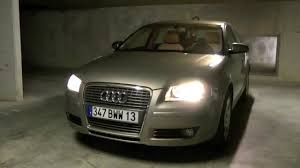 Audi Coming Home Lights Audi A3 8p Coming Leaving Home Youtube