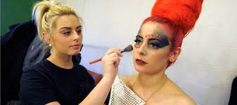 theatrical hair and make up