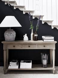 henley console table neptune com dark wall in back