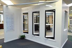 plygem double hung windows display