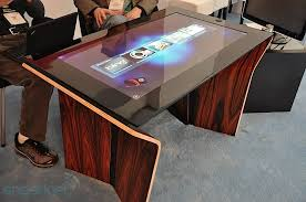 Micrsoft Table Surface 2 0 Now Shipping Packing Pixelsense And Gorilla Glass