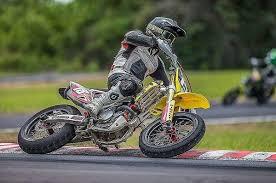 scooter and supermoto races in coronado