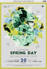Spring Flyer Template Spring Day Flyer Template By Thats Design Store TheHungryJPEG 11