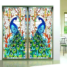 painting glass shower doors painted glass doors note stickers other sizes can be customized back painted painting glass shower doors