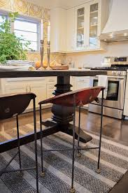 I Love A Counter Height Farm Table As An Island In The Kitchen