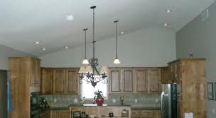 kitchen lighting vaulted ceiling. Lighting Sloped Ceiling Recessed Housing Kitchen Light Within For Vaulted S