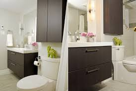 bathroom cabinet above the toilet