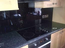 Black Splashback Kitchen Glasskitchensplashbackscom