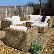 blenheim glass corner sofa set with armchair