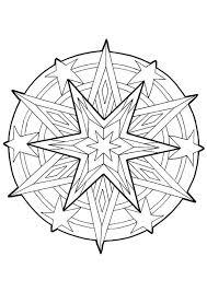 Kleurplaat Mandala Kleurplaten 5246 Kleurplaten Kerst 만다라