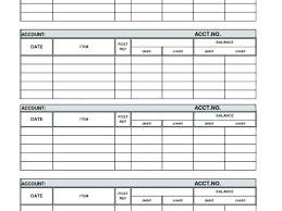 Account Ledger Printable Financial Ledger Template Account Balance Spreadsheet Unique