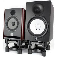 excellent isoacoustics isol8r200 desktop adjule speaker stands desktop speaker stands plan