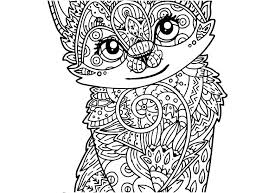 Cat Coloring Pages For Adults Printable Coloring Pages Cats Cat