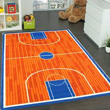 sports themed floor lamps luxury kids rug basketball ground 3 x 5 children area rug