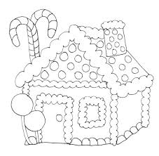 Free Gingerbread Coloring Pages Printable Christmas Hou Yoloerco