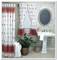 matching shower curtain and window jade green