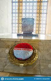 Ankara, Die Türkei: Anitkabir Ist Das Mausoleum Des Gründers Der Türkischen  Republik, Mustafa Kemal Ataturk Innen Redaktionelles Foto - Bild von  dämmerung, historisch: 134002176