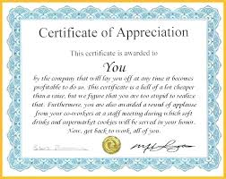 Appreciation Certificate Wording Employee Of The Year Month