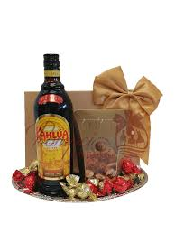 klic kahlua liqueur gift basket kahlua gift basket coffee gift basket chocolate gift