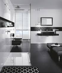 black white modern bathroom design 9
