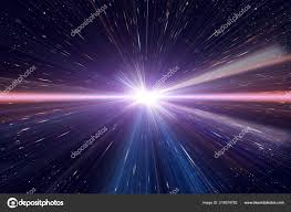 Light Speed Travel Light Speed Travel Time Warp Traveling Outer Space Galaxy