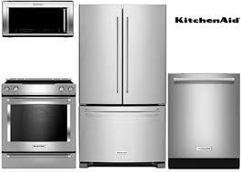 kitchenaid stove white. kitchenaid kitchen stainless steel package stove white